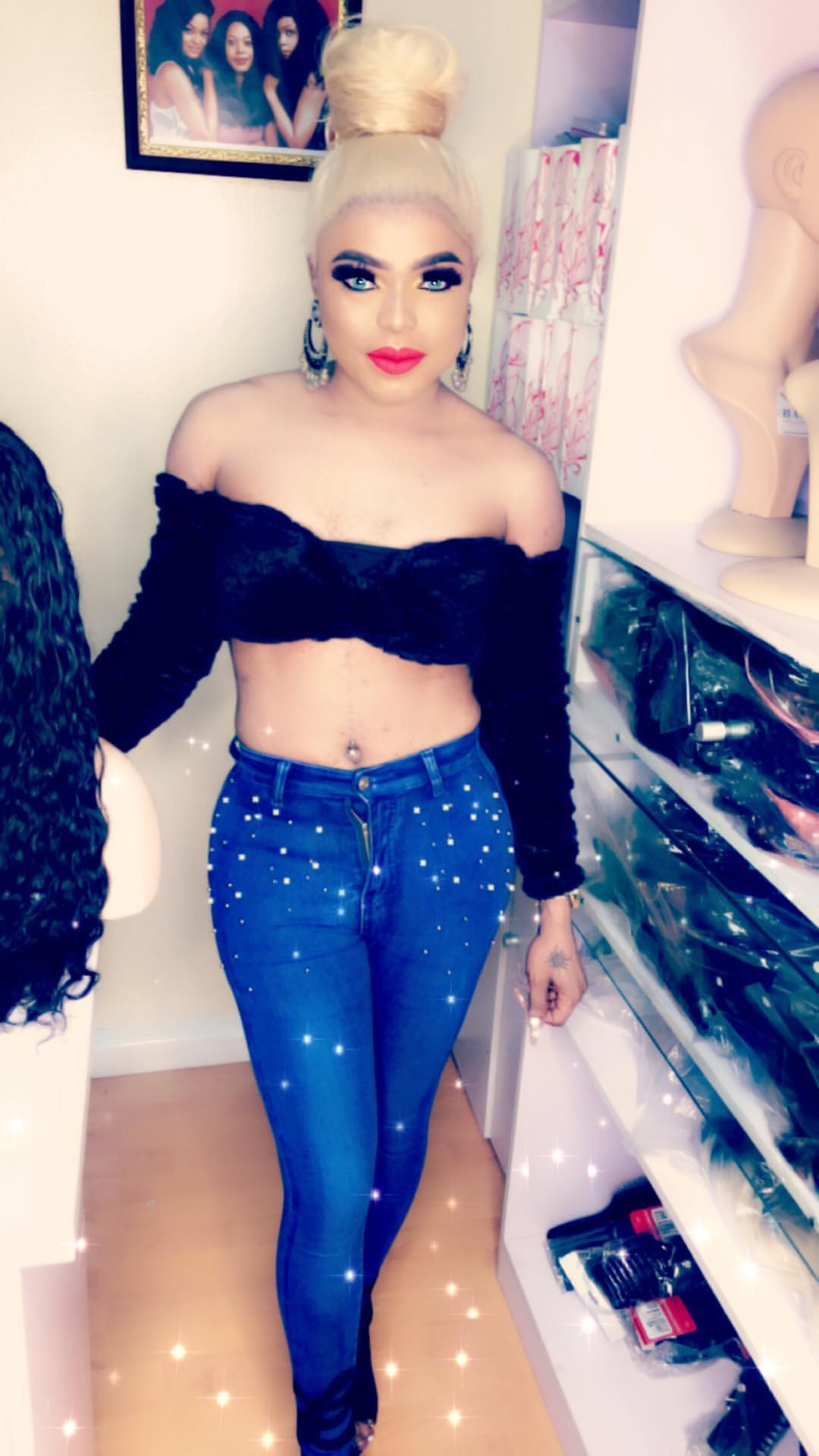 bobrisky-steps-out-in-cropped-top-shows-off-his-midriff-photos-1