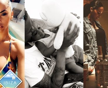 Wizkid Sends Birthday Message To Third Baby Mama, Jada Pollock After Domestic Violence Drama