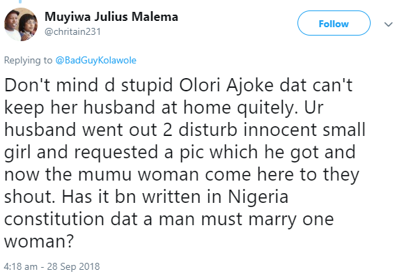 Nigerian mother releases nude photos of her husband