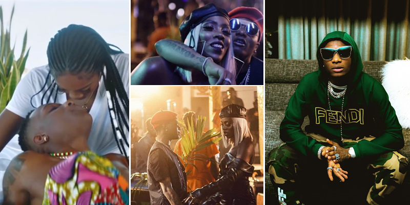 After Tiwa Savage Exposed His 'Bad Boy' Lifestyle, Wizkid