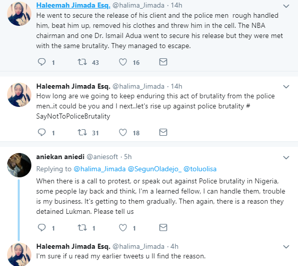Lawyer stripped of his clothes and thrown into the cell while attempting to secure the release of his client from their custody in Kwara(photos)