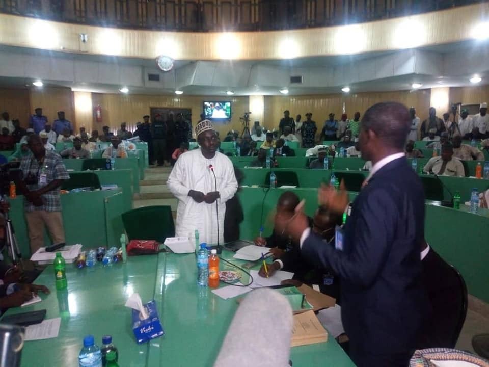 Update: Journalist Jaafar Jaafar who released the purported video of Gov Ganduje collecting bribe, testifies before state house investigative panel (photos)