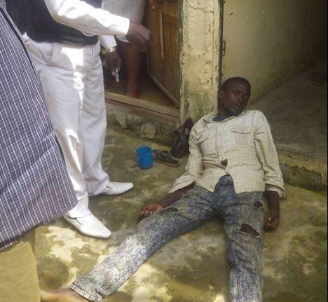 Photos:?Man found unconscious after hiding inside a wardrobe for 5-days during the recent?Kaduna Crisis