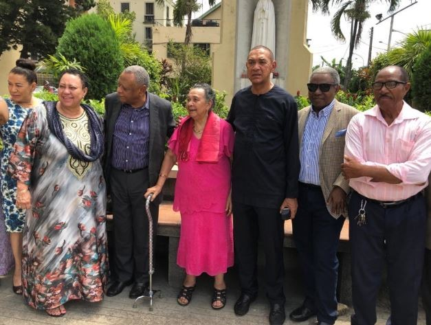 Senator Ben Bruce celebrates his mother