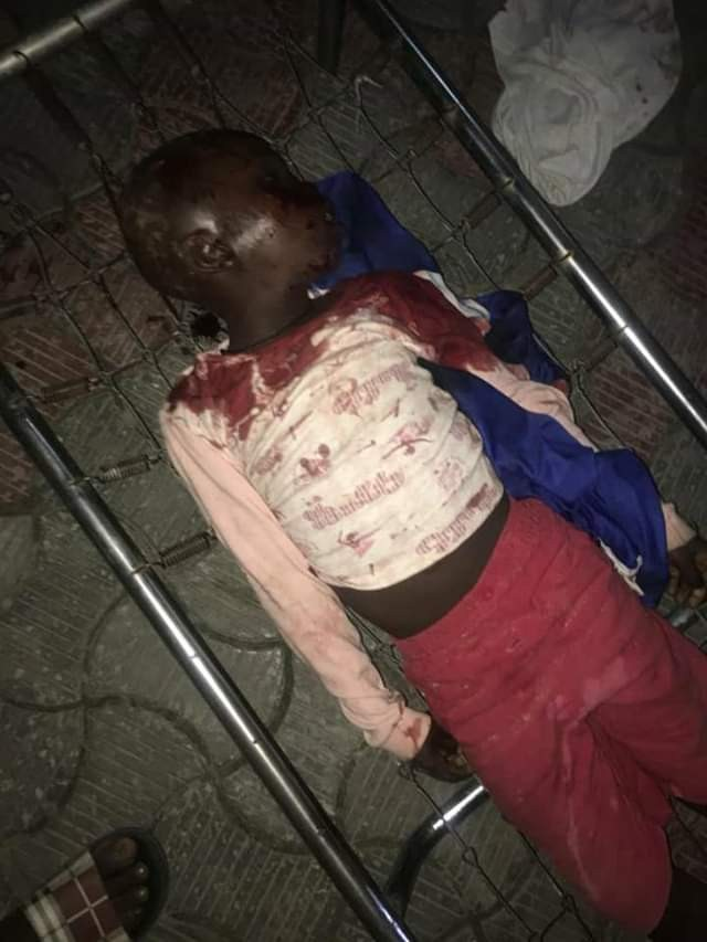 Photos: 9-year-old boy killed by stray bullet allegedly fired by trigger-happy vigilantes in Delta State