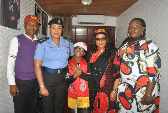 Photos: Nigeria Police Force honours Ozzybee