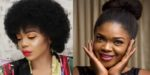 5 Female Nigerian Celebrities Who Rock Their Natural Hair Proudly