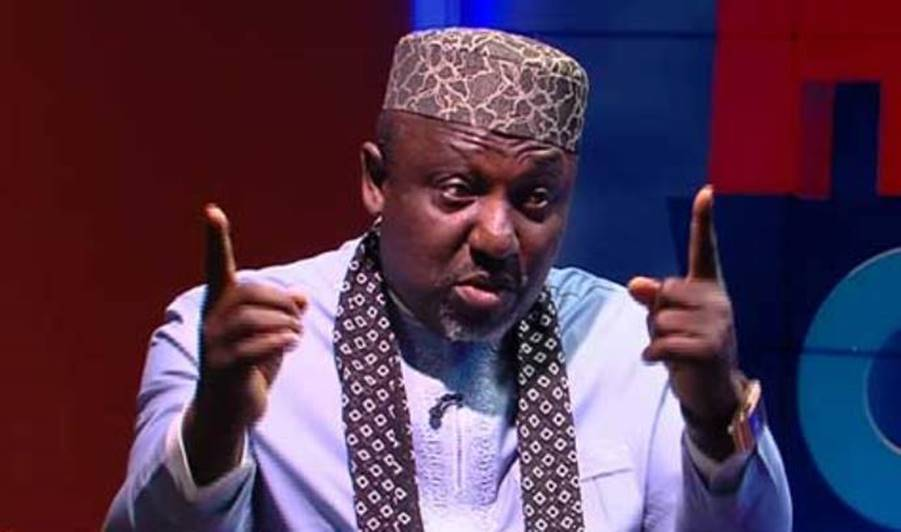 Image result for okorocha leaves imo government house as supporter cry