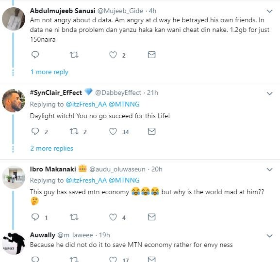 MTN 5GB data for N50: Man reports cheat code to MTN after