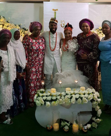 Linda Ejiofor and Ibrahim Suleiman hold court and traditional wedding (photos)