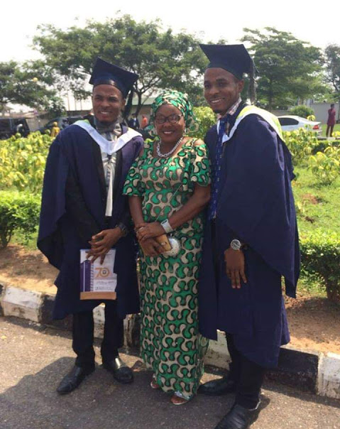 Identical twin brothers both graduate with First Class from the faculty of law in University of Ibadan