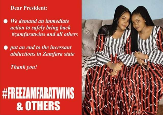 Kidnappers of Zamfara twin sisters reduce ransom to N15m, vow to kill one if payment not made on time
