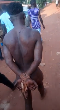 Man accused of raping two UNN students is paraded naked
