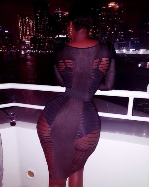 Actress Princess Shyngle flaunts her curvy backside in new photos?