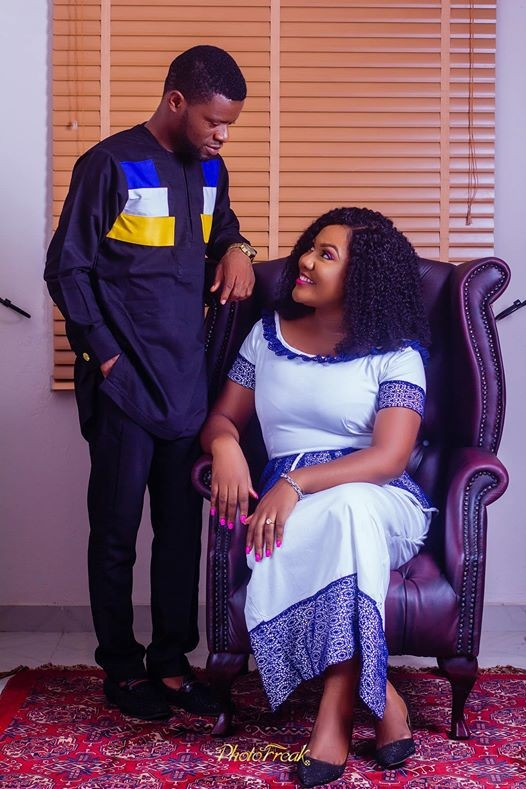 Nigerian woman gushes about getting married to a man she used to make fun of on Facebook, shares their love story(photos)