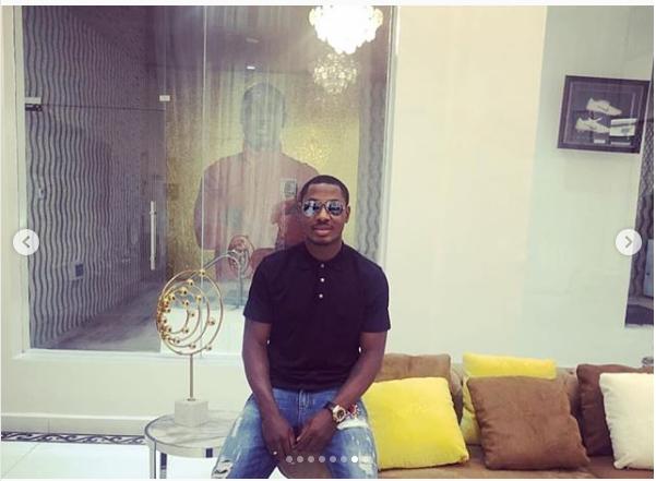 Check out Super Eagles striker Jude Ighalo