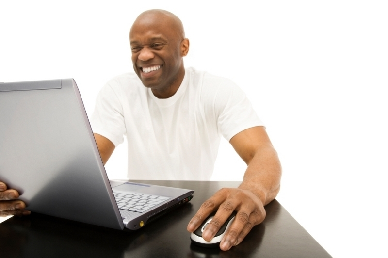 black_man_working_on_computer