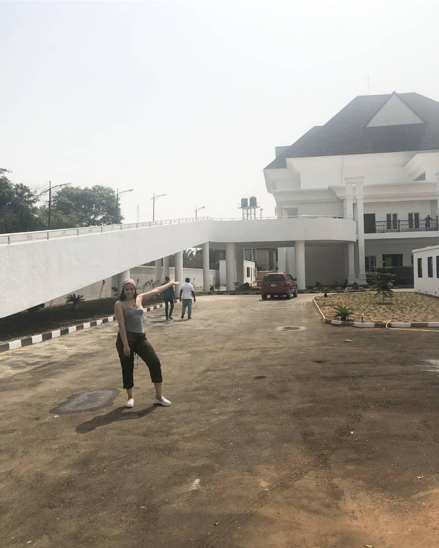 Super Eagles player, Emmanuel Emenike, completes his mansion in Owerri (photos)