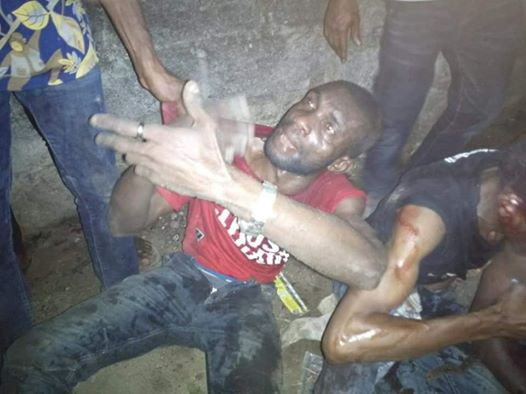 Photos: Notorious thieves run out on luck after snatching phone at gunpoint in Akwa Ibom