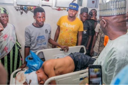 Photos: Thugs attack APC governorship rally in Ilorin