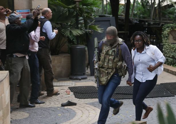 SAS officer is hailed a hero after he stormed Kenya hotel with elite units to take on terrorists
