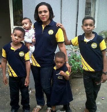 Emeka Ike shares photos of his kids all grown up
