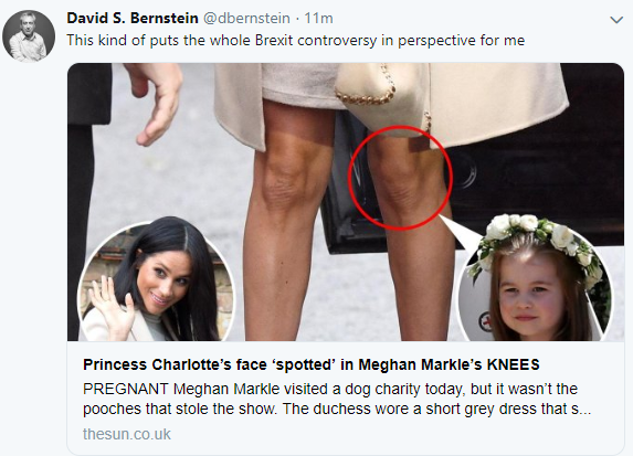 People are saying they can see Princess Charlotte