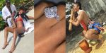Popular Nigerian Model, Dancer, Jane Mena engaged to longtime Boyfriend (photos)