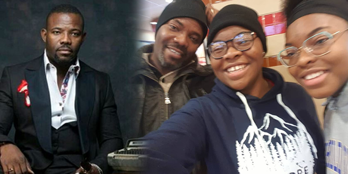 Image result for okey bakassi and his daughter