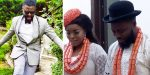 Nollywood actress Empress Njamah finally marries, weds colleague Daniel Lloyd traditionally