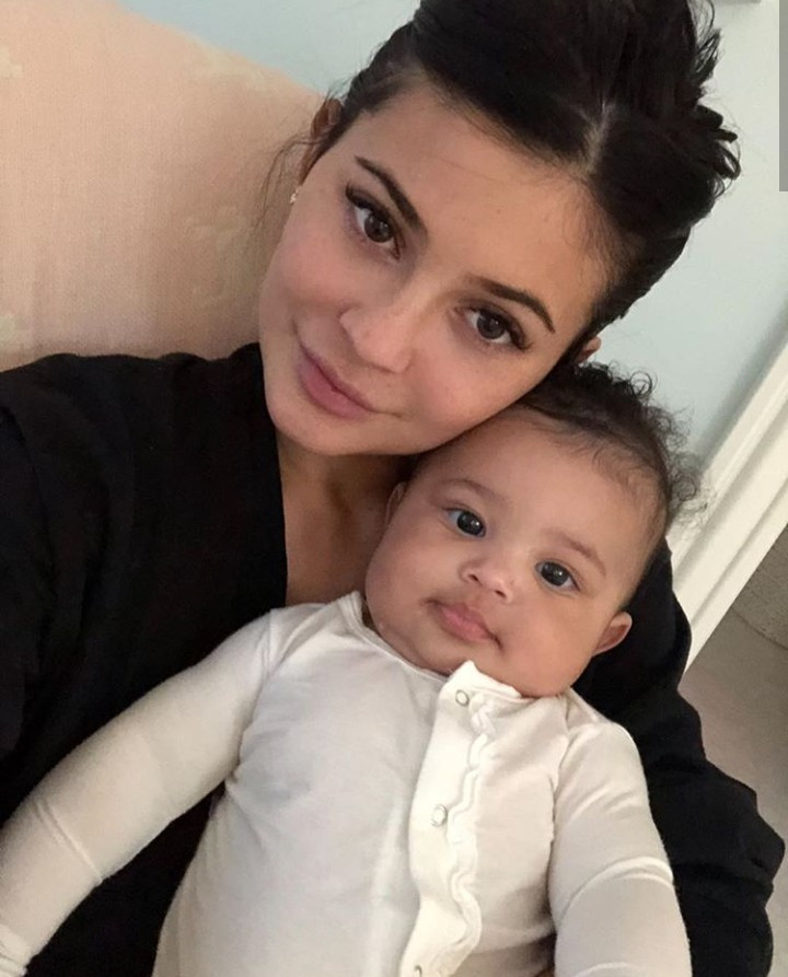 Kylie Jenner releases never before seen photos of her daughter to mark her 1st birthday