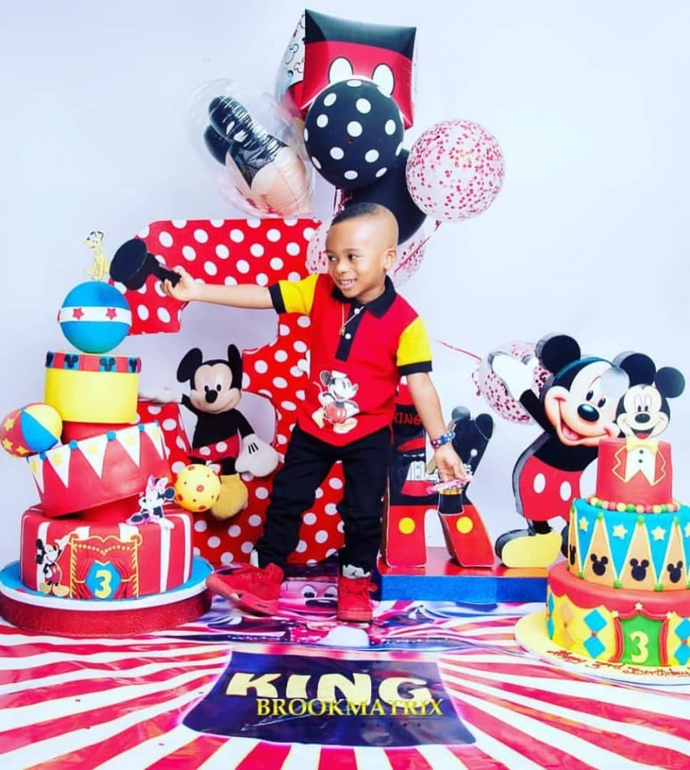 Tonto Dikeh shares lovely new photos of her son, King Andre, who turns 3 today