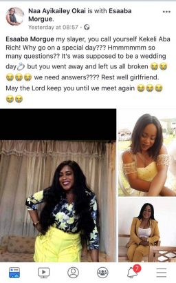 Ghanaian-banker-dies-on-her-wedding-day-lailasnews-1-256x410