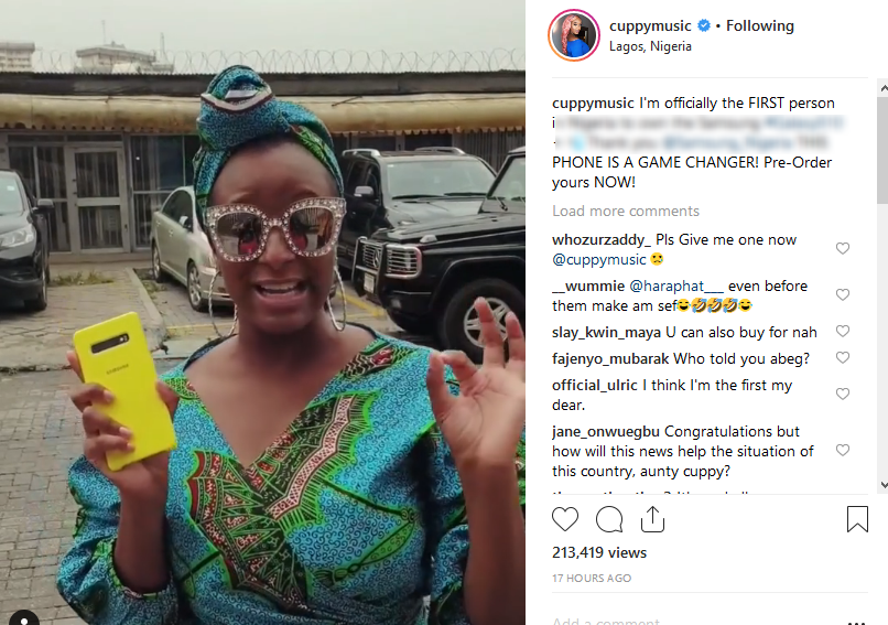 Im-the-1st-Nigerian-to-own-S10-DJ-Cuppy-lailasnews