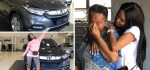 Tears of joy as daughter surprises 60-yr-old mother with brand new exotic car on her birthday (photos)
