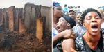 Sad! Pregnant woman and her two kids burnt to death in Anambra; No traces to recognize their ashes