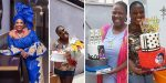 Nollywood actress Adediwura celebrates 41st birthday with 31 cakes (photos)