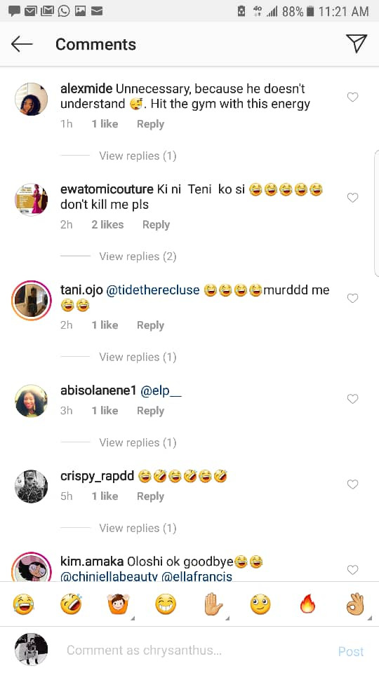 Singer, Teni gets criticized by Nigerians for insulting a foreigner in Yoruba language