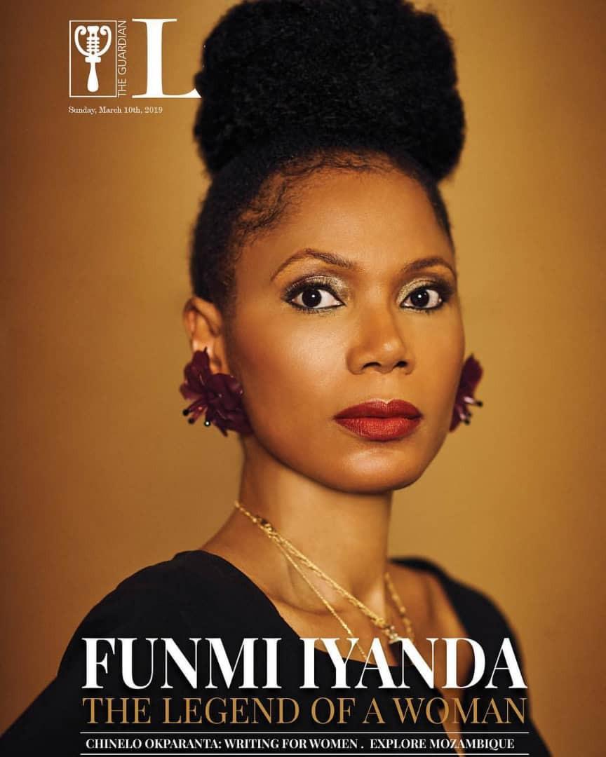 Lovely new photos of media personality, Funmi Iyanda