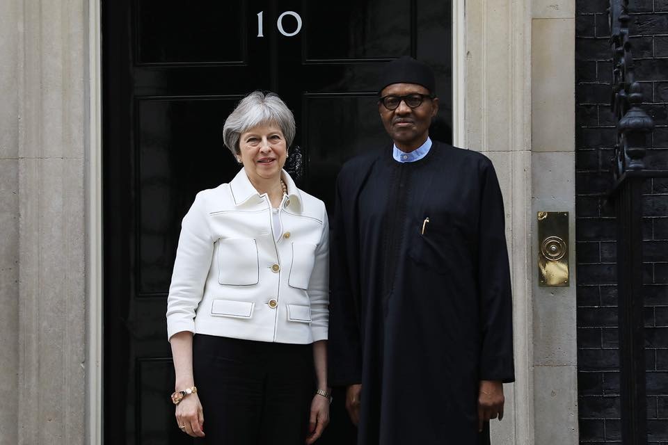 Buhari and Theresa May