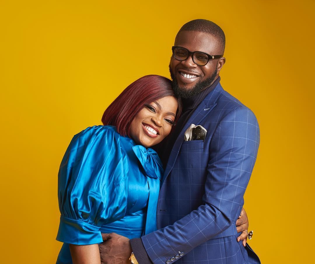 Top Nollywood Actress, Funke Akindele host fun pool party to celebrate  husband, JJC's birthday (video)