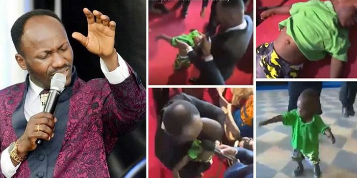Apostle Johnson Suleman Resurrects A Dead Boy