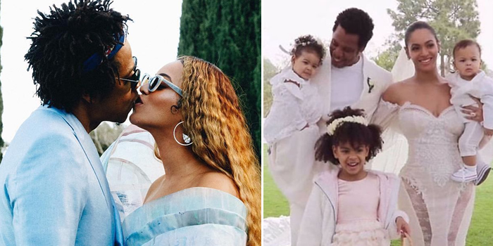 Adorable Photo Of Beyonce Jay Z And Their Kids From Bey S Homecoming Documentary