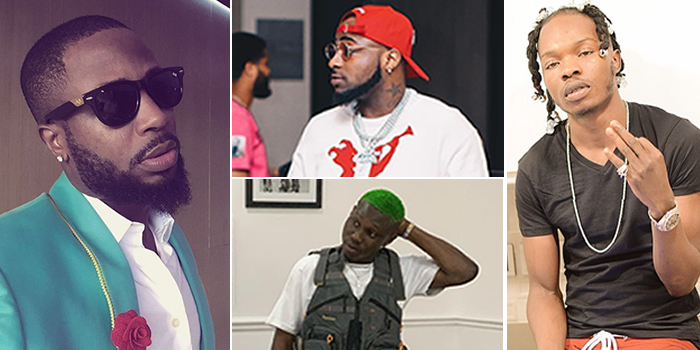 Tunde Ednut Under Fire As Davido And Zlatan Ibile Stands Against Him Over Naira Marley S Yahoo Yahoo Controversy Iceprince, tunde ednut, lynxxx, davido, jjc. tunde ednut under fire as davido and