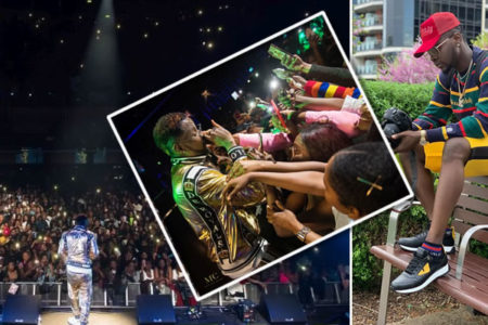Kizz Daniel Sells Out 2,350 Capacity Music Venue In London (Photos)