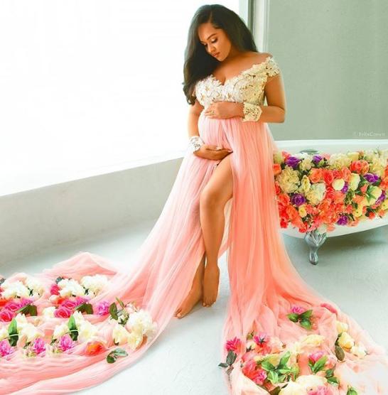 Tania Omotayo shares more beautiful maternity photos