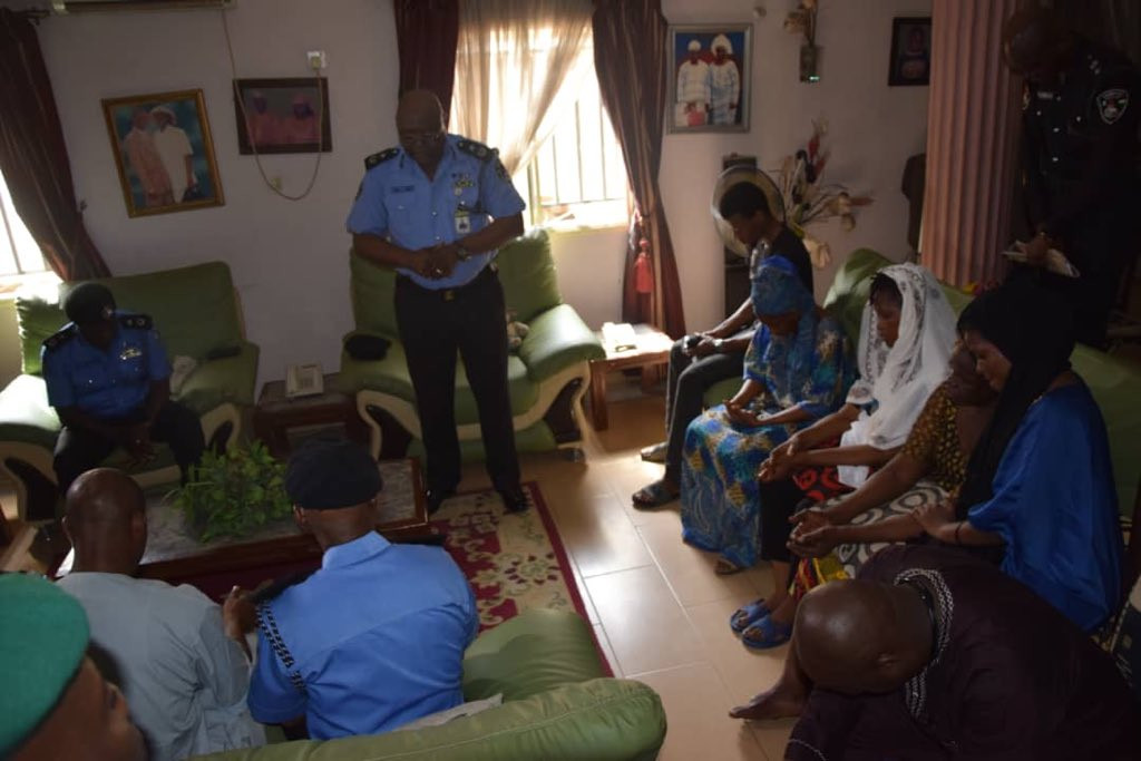 Photos: Lagos Police commissioner visits family of football fan, Kolade Johnson, killed by SARS officers