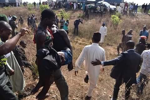 Photos: Governor El-Rufai?s convoy foils kidnapping along Kaduna-Abuja road
