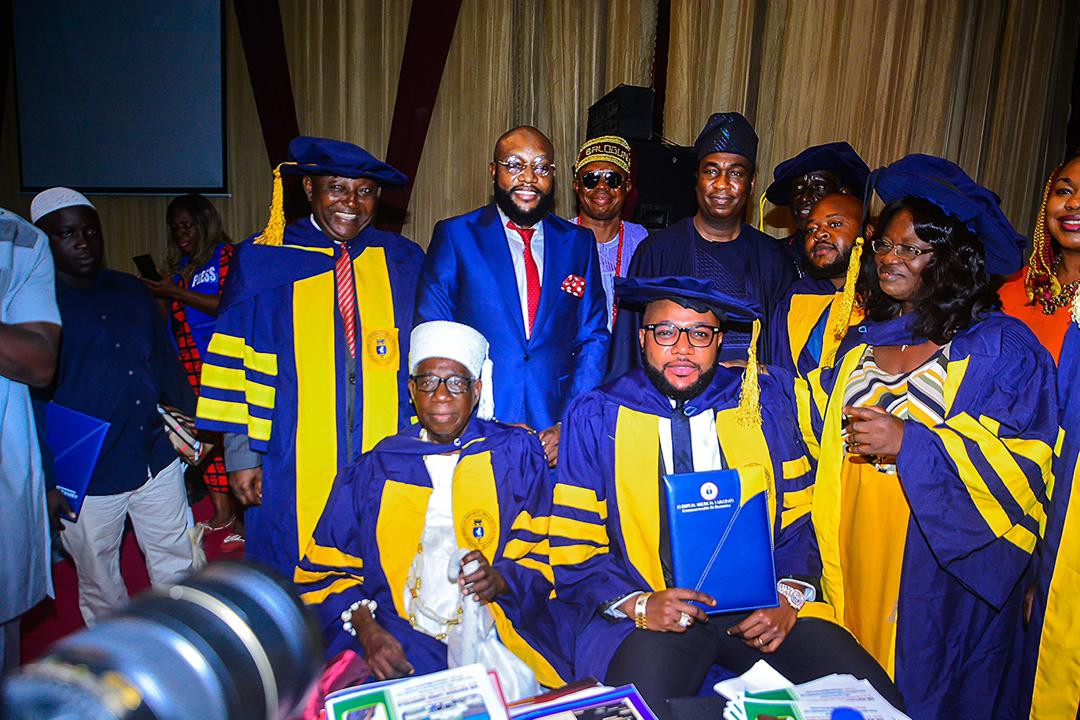 E-Money bags Honorary Doctorate Degree in Business Management and Corporate Governance