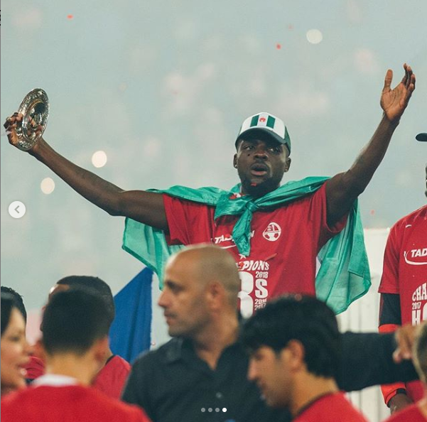 Super Eagles midfielder John Ogu to leave Hapoel Beer Sheva in Israel after 5-Years
